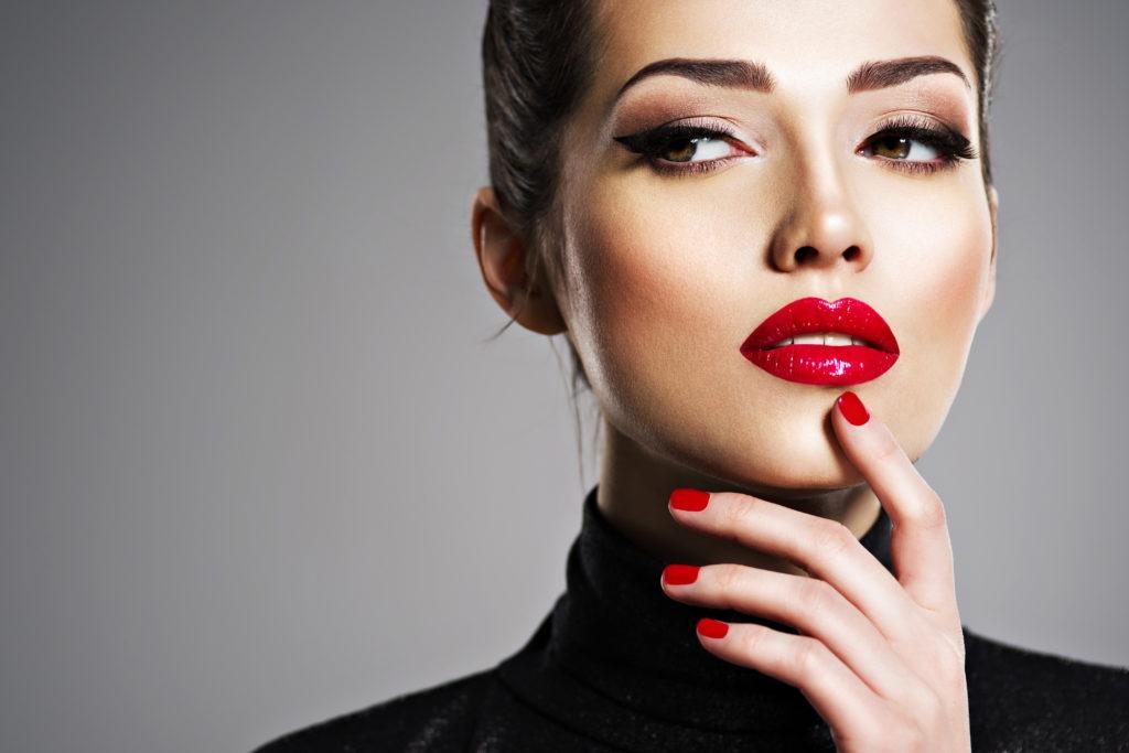 Red Lip Tattoo